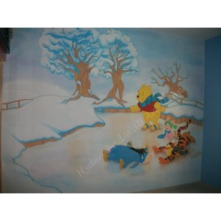 Weine Pool Cristmas Hand Made Painting