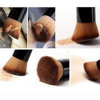 Magideal Angled Flat Makeup Brush Liquid Foundation Powder Contour Concealer Tool
