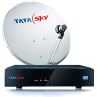 Tata Sky HD Set Top Box With 1 Month Sports Dhamaka Pack