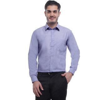 English Navy Blue Slim Fit Full sleeves Formal Shirt for Men