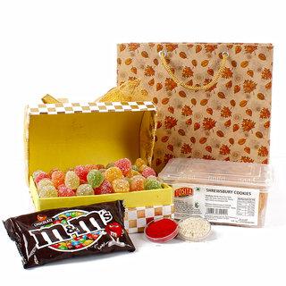 Bhai Dhooj Candy Cookies Chocolate Treat