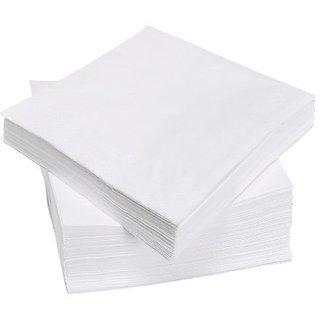 White Napkins Paper