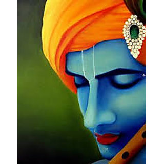 Beautiful And Latest Krishna oil painting