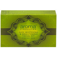 Aroma Treasure Skin Whitening And Brightening Facial Kit For Dry Skin - Single Time
