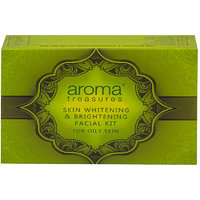 Aroma Treasure Skin Whitening And Brightening Facial Kit For Oily Skin - Single Time