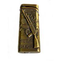 New Design Golden Gun Look Stylish Premium Quality Stylish Refillable Cigarette Lighter