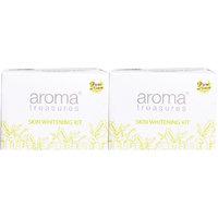 Aroma Treasures Skin Whitening Kit (Single Time Use) Pack Of 2