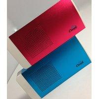 Portable Power Bank Cum Wireless Bluetooth Speaker-metallic Blue