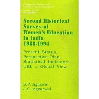 Second Historical Survey of Women's Education in India 1988-1994  Present Status, Perspective Plan, Statistical Indicato