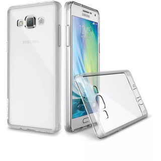 Samsung Galaxy On7 Transparent Crystal Clear Back Cover by Profusse