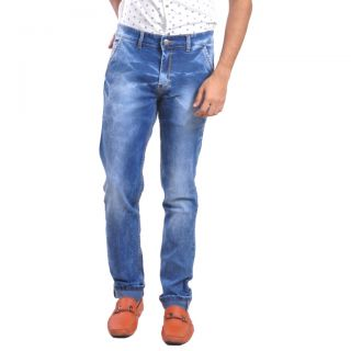 LOBSTAR  Light Blue , Smoke wash Skinny Fit Jeans