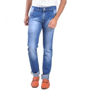 LOBSTAR  Super Skinny Light Fade blue jeans