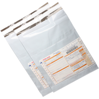 """8*10""""-10 Pcs-With POD Jacket-shopclues Bags-Tamper Proof Evident Plastic Bags"""