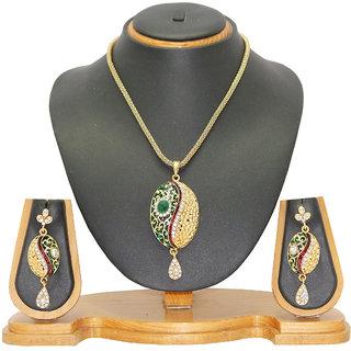 Soni Art Jewellery Party Wear Pendant Set 0106C