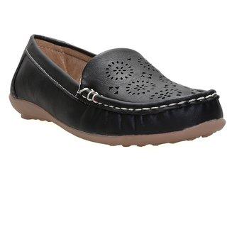 CATBIRD Black Stylish Loafer For Women 605
