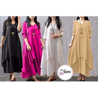 Fine Rayon one Pc Dress