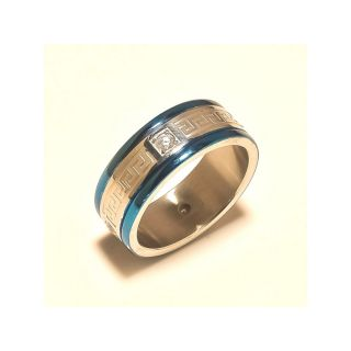 sanaa creartions Blue Color Brass Ring with Magnetic Healing elegance  style