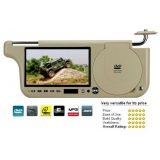 7 INCH SUNVISOR LCD SCREEN MONITOR WITH BUILT IN DVD PLAYER FOR CAR USE