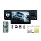 CAR STEREO WITH 4.3 INCH LCD SCREEN, DVD PLAYER, MP3 FM USB PLAYER