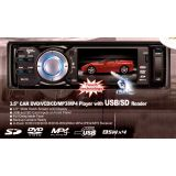 CAR STEREO WITH 3.5 INCH SCREEN AND DVD MP3 MP4 USB SD CARD FM