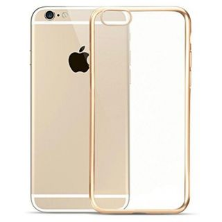 EXOIC81 Ultra Thin Soft TPU Back Case For Apple iPhone 6 / 6s - GOLD