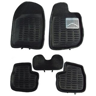 Petrox 3D Foot Mats ( Colour - Black ) For Quanto