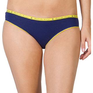 Undercolors Blue Hipsters for Women