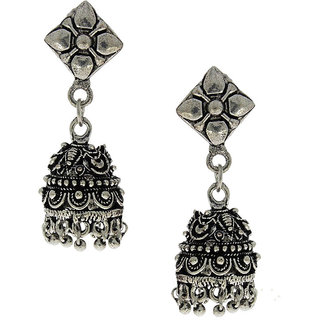 Anuradha Art Try Something Different Look Designer Jhumki Earrings For Women/Girls
