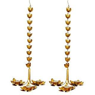 AM VAASITI Lotus Hanging LED T-lite Multi 2