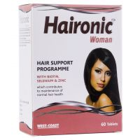West Coast  Haironic Man  WITH BIOTIN, SELENIUM  ZINC 60 Tablets