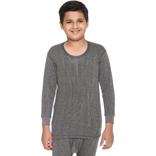 Vimal Winter King Grey Blended Thermal Top For Boys