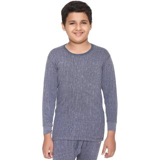 Vimal Winter King Blended Navy Thermal Top For Boys