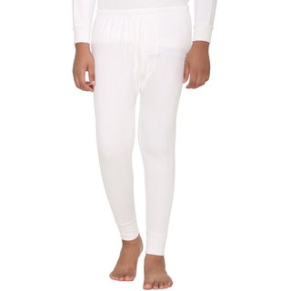 Vimal Winter King Blended White Thermal Lower For Boys