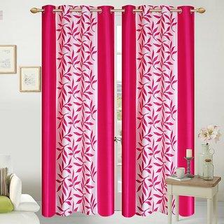 Shopaholic Eyelet Long Door Curtain Set of 2(CLK2-06)