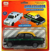 Baby Toy White Ambassador Car Scale Model Pull Back Vehicle Gift KidTransport