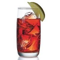 OCEAN GLASSWARE - Ocean Iris Hi Ball Drink Glass - Set Of 6 - 370 Ml