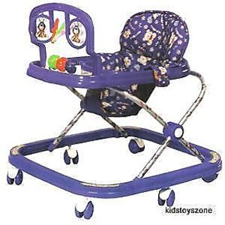 Baby Adjustable Walker Classical Square Baby Walker