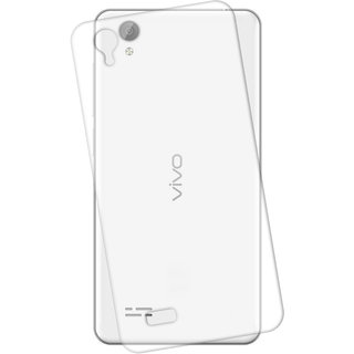 Snooky transparent Silicone Back Case Cover For vivo Y31