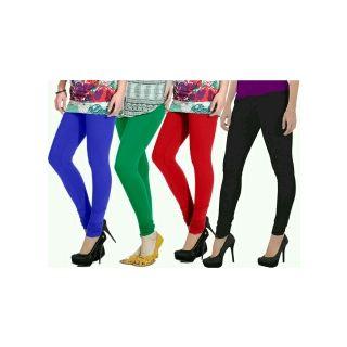 Sassily Multi color cotton Lycra leggings