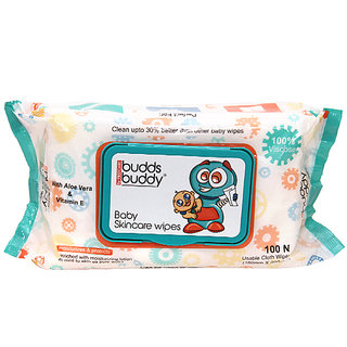 Buddsbuddy Baby SkincareWet  Wipes - 100pcs pack