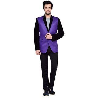 Yuvraj Casual Plain Indian Suiting Blazer