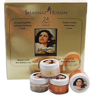 shahnaz husain facicl gold kit