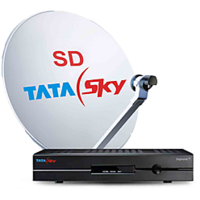 Tata Sky SD Set Top Box With 1 Month Ultra