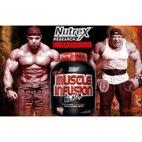 New Nutrex Muscle Infusion 5 LBS Chocolate Flavor With Free Shaker