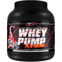 TREC NUTRITION 100% WHEY PUMP XTREME PROTEIN 4LBS With Free Shaker