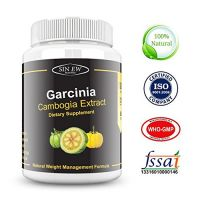 Sinew Nutrition Garcinia Cambogia Extract -(120 Capsules) 1500 Mg, 100  Veg, Pure  Natural Weight Management  Appetit