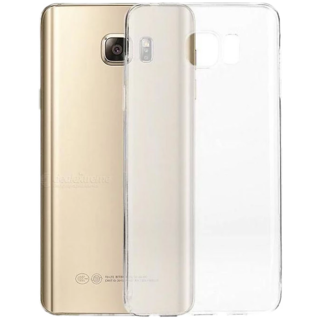 Samsung Galaxy Note 5 Transparent Crystal Clear Back Cover by Profusse