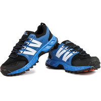Austin-Nicholas Mens Black Blue Sport Shoes