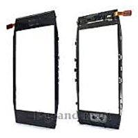 100% Genuine Touch Screen Digitizer Glass For Nokia E7-E7-00 Black