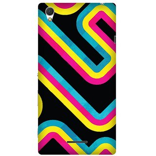 Super Cases Premium Designer Printed Case for Sony Xperia T3